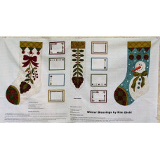 Winter Blessing- Christmas Stocking