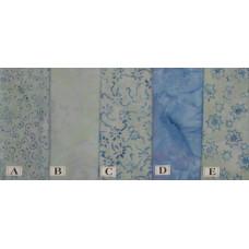 Bali Batiks - Dusty Blue
